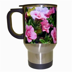 Lovely Flowers 17 Travel Mugs (white)