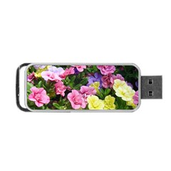 Lovely Flowers 17 Portable Usb Flash (two Sides) by MoreColorsinLife