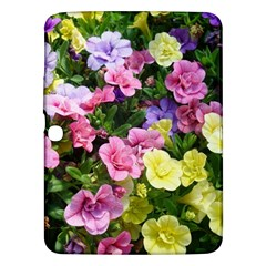 Lovely Flowers 17 Samsung Galaxy Tab 3 (10 1 ) P5200 Hardshell Case  by MoreColorsinLife