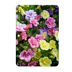Lovely Flowers 17 Samsung Galaxy Tab 2 (10 1 ) P5100 Hardshell Case  by MoreColorsinLife