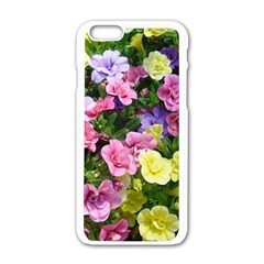 Lovely Flowers 17 Apple Iphone 6/6s White Enamel Case by MoreColorsinLife