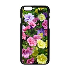 Lovely Flowers 17 Apple Iphone 6/6s Black Enamel Case by MoreColorsinLife