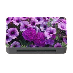 Wonderful Lilac Flower Mix Memory Card Reader With Cf by MoreColorsinLife