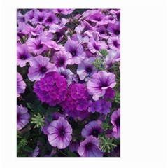 Wonderful Lilac Flower Mix Large Garden Flag (two Sides)
