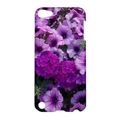 Wonderful Lilac Flower Mix Apple Ipod Touch 5 Hardshell Case by MoreColorsinLife