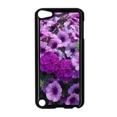 Wonderful Lilac Flower Mix Apple Ipod Touch 5 Case (black)