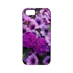 Wonderful Lilac Flower Mix Apple Iphone 5 Classic Hardshell Case (pc+silicone) by MoreColorsinLife