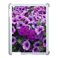 Wonderful Lilac Flower Mix Apple Ipad 3/4 Case (white) by MoreColorsinLife