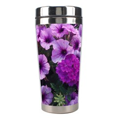 Wonderful Lilac Flower Mix Stainless Steel Travel Tumblers