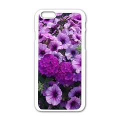 Wonderful Lilac Flower Mix Apple Iphone 6/6s White Enamel Case by MoreColorsinLife