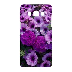 Wonderful Lilac Flower Mix Samsung Galaxy A5 Hardshell Case  by MoreColorsinLife