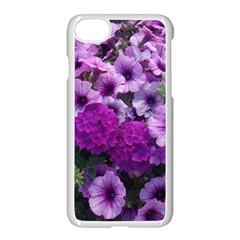 Wonderful Lilac Flower Mix Apple Iphone 7 Seamless Case (white)