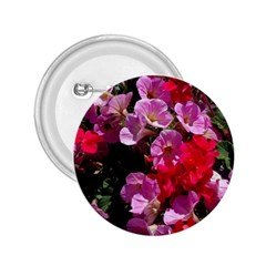 Wonderful Pink Flower Mix 2 25  Buttons