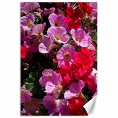 Wonderful Pink Flower Mix Canvas 20  X 30
