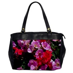 Wonderful Pink Flower Mix Office Handbags