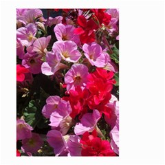 Wonderful Pink Flower Mix Small Garden Flag (two Sides)