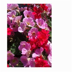 Wonderful Pink Flower Mix Large Garden Flag (two Sides)