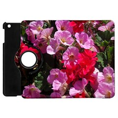 Wonderful Pink Flower Mix Apple Ipad Mini Flip 360 Case