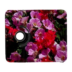 Wonderful Pink Flower Mix Galaxy S3 (flip/folio)