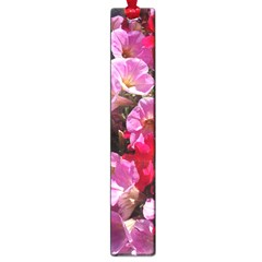 Wonderful Pink Flower Mix Large Book Marks