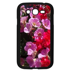 Wonderful Pink Flower Mix Samsung Galaxy Grand Duos I9082 Case (black)