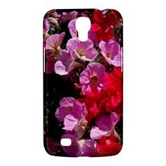 Wonderful Pink Flower Mix Samsung Galaxy Mega 6 3  I9200 Hardshell Case