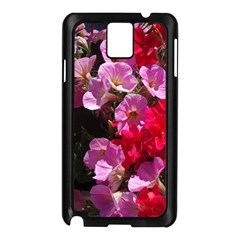 Wonderful Pink Flower Mix Samsung Galaxy Note 3 N9005 Case (black)