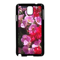 Wonderful Pink Flower Mix Samsung Galaxy Note 3 Neo Hardshell Case (black)