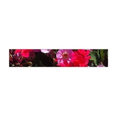 Wonderful Pink Flower Mix Flano Scarf (mini)