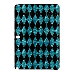 Diamond1 Black Marble & Blue Green Water Samsung Galaxy Tab Pro 10 1 Hardshell Case by trendistuff