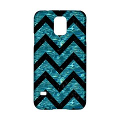 Chevron9 Black Marble & Blue Green Water (r) Samsung Galaxy S5 Hardshell Case  by trendistuff