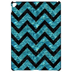 Chevron9 Black Marble & Blue Green Water (r) Apple Ipad Pro 12 9   Hardshell Case by trendistuff