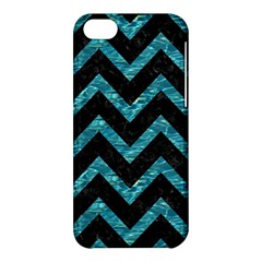 Chevron9 Black Marble & Blue Green Water Apple Iphone 5c Hardshell Case by trendistuff