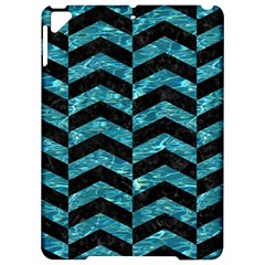 Chevron2 Black Marble & Blue Green Water Apple Ipad Pro 9 7   Hardshell Case by trendistuff