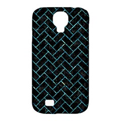 Brick2 Black Marble & Blue Green Water Samsung Galaxy S4 Classic Hardshell Case (pc+silicone) by trendistuff