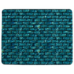 Brick1 Black Marble & Blue Green Water (r) Jigsaw Puzzle Photo Stand (rectangular) by trendistuff
