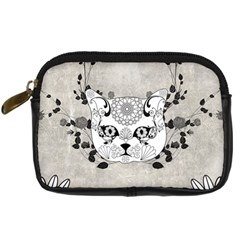 Wonderful Sugar Cat Skull Digital Camera Cases by FantasyWorld7