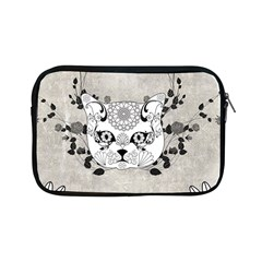 Wonderful Sugar Cat Skull Apple Ipad Mini Zipper Cases by FantasyWorld7