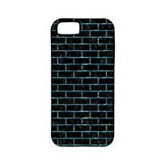 Brick1 Black Marble & Blue Green Water Apple Iphone 5 Classic Hardshell Case (pc+silicone) by trendistuff