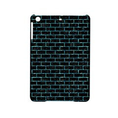 Brick1 Black Marble & Blue Green Water Apple Ipad Mini 2 Hardshell Case by trendistuff