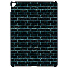 Brick1 Black Marble & Blue Green Water Apple Ipad Pro 12 9   Hardshell Case by trendistuff