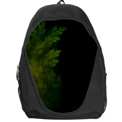 Beautiful Fractal Pines In The Misty Spring Night Backpack Bag by jayaprime