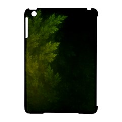 Beautiful Fractal Pines In The Misty Spring Night Apple Ipad Mini Hardshell Case (compatible With Smart Cover) by jayaprime