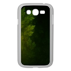 Beautiful Fractal Pines In The Misty Spring Night Samsung Galaxy Grand Duos I9082 Case (white) by jayaprime