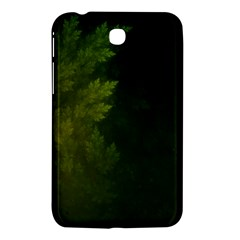 Beautiful Fractal Pines In The Misty Spring Night Samsung Galaxy Tab 3 (7 ) P3200 Hardshell Case  by jayaprime