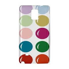 Brights Pastels Bubble Balloon Color Rainbow Samsung Galaxy Note 4 Hardshell Case by Mariart