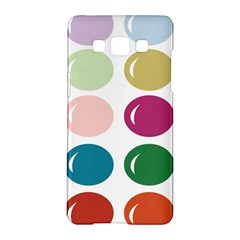 Brights Pastels Bubble Balloon Color Rainbow Samsung Galaxy A5 Hardshell Case  by Mariart