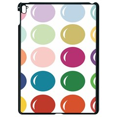 Brights Pastels Bubble Balloon Color Rainbow Apple Ipad Pro 9 7   Black Seamless Case
