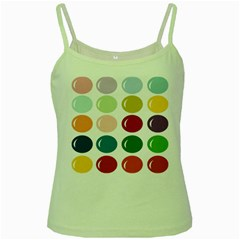 Brights Pastels Bubble Balloon Color Rainbow Green Spaghetti Tank by Mariart