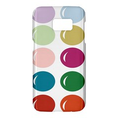 Brights Pastels Bubble Balloon Color Rainbow Samsung Galaxy S7 Hardshell Case  by Mariart